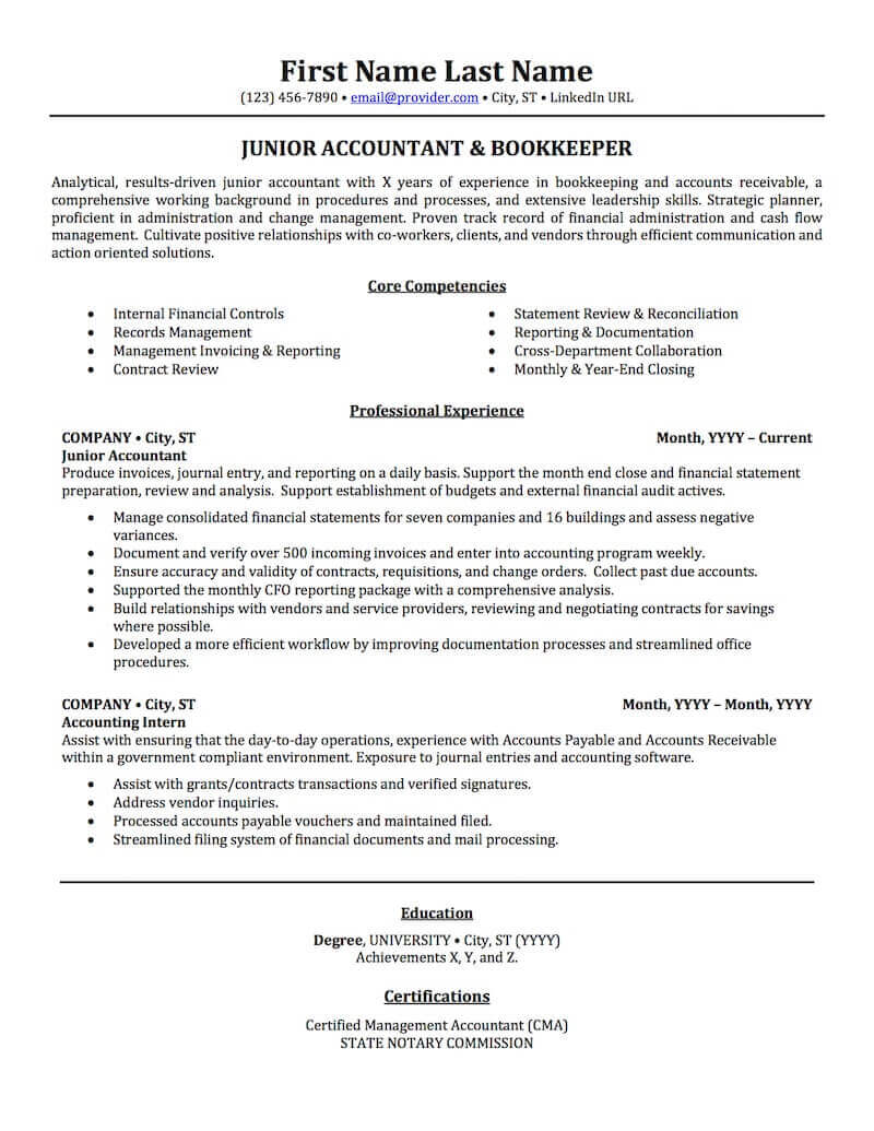 Accounting Auditing Bookkeeping Resume Samples Professional Resume Examples Topresume