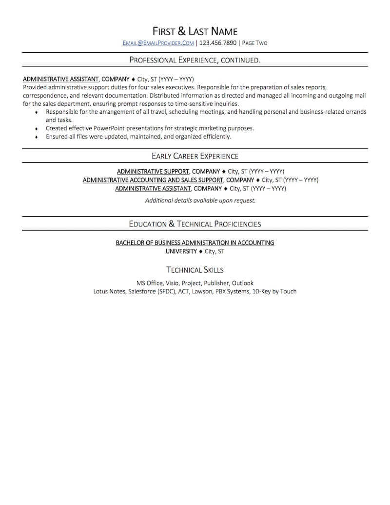 Office Administrative Assistant Resume Sample Professional Resume Examples Topresume